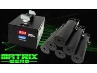 Neo neon matrix beam fat beam laser system