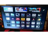 Panasonic TX-48AX630B 3D 4K Smart TV 48 Inch HD Freeview For Parts/not Working.