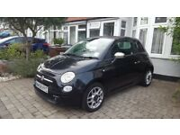 Black Fiat 500 1.4 Sport LOW MILEAGE