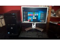 HP PRO 3500 i3 WINDOWS 10 TOWER PC SYSTEM