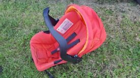 Mothercare baby carrier car seat