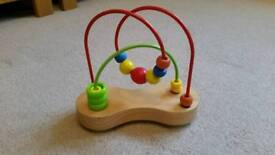 Hape Double Bubble High Chair bead toy
