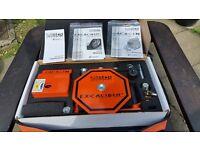 Excalibur wheel lock and hitch lock kit