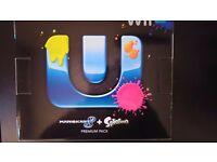 Nintendo Wii U Mario Kart 8 + Splatoon Premium pack console bundle USED (WIIUB1)