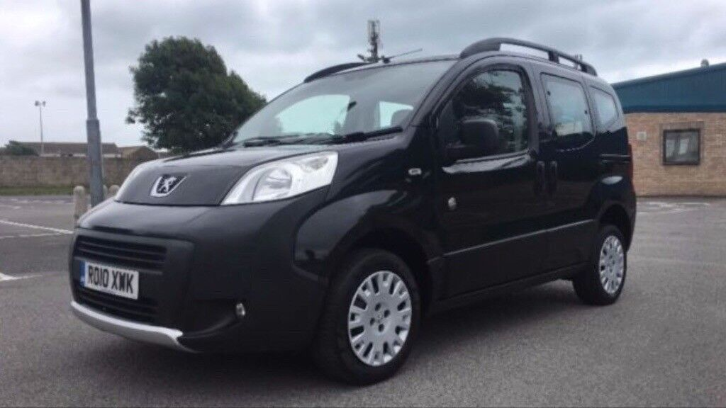 PEUGEOT BIPPER TEPEE 1.4 HDi Deisel Outdoor 5dr MPV (2010) £3,295,00