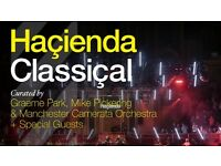 Hacienda Classical at Royal Albert Hall - 1 Standing ticket for 26/05/17 - £55