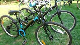"""B Twin Original 3 hybrid bikes ages 9 up suit height 4'10"""" to 5'2""""can sell separately"""