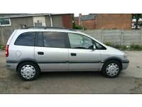 2000 VAUXHALL ZAFIRA 7 SEATER 1.6 PETROL , , GOOD RUNNER , , CHEAP CAR