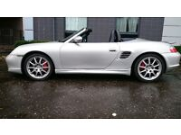 Porsche Boxster S with Aero Pack, Hard top and winter wheels