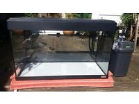 Fluval 125 ltr Aquarium plus Fluval 205 MSF External Filter