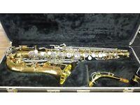 Buescher Aristocrat 200 USA Eb alto saxaphone