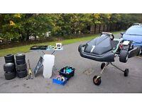 Wright Honda T2 Prokart and everything you need to start racing