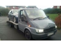 FORD TRANSIT 350 LWB RECOVERY TRUCK READY FOR WORK