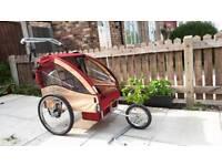 2 In 1 Child Jogger Stroller, Bike Trailer For Kids