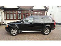 Volvo XC90 Auto, Black, Loaded with Extras inc Sat Nav, Bluetooth, Front & Rear Sensors
