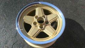 Mercedes penta alloys ( sec,107,126) not Bbs,amg,