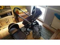 Icandy peach blackjack travel system