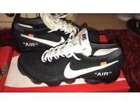 Nike Vapormax off white - Black/white