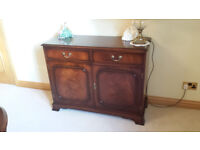 Bradley mahogany two door sideboard, immaculate condition £400 (RRP £1100)