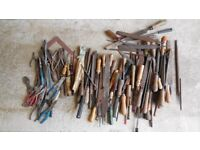 Pliers, hand files and wood chisels - FREE to a registered charity