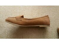New look suede effect shoes