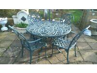 Garden Table set Nova Brand plus 4 chairs