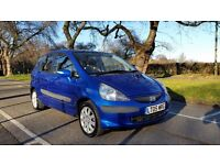HONDA JAZZ SE 1339cc 05 PLATE 1 LADY OWNER FROM NEW 69000 MILES FULL SERVICE HISTORY AIRCON ALLOYS