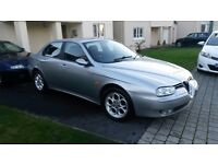 ALFA ROMEO 156 T.SPARK 1.8cc ONE OWNER FROM NEW / LOW MILEAGE / NEW MOT/ only £750