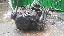 KLR600 ENGINE WITH KICKSTART