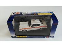 CORGI / VANGUARD'S FORD CAPRI POLICE CAR.