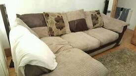 3 seater corner sofa dfs. Used in great conditon
