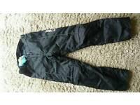 Jet waterproof motorbike trousers