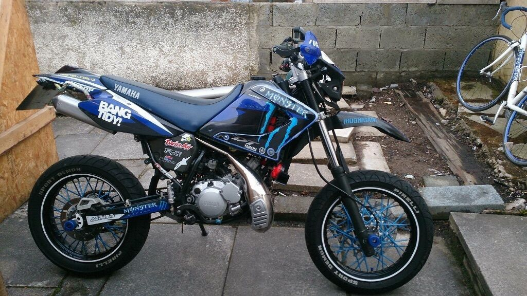 Yamaha dt 125 sm 170cc for sale in inverness for Yamaha dt 250 for sale