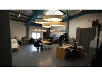 CREATIVE OFFICE/GALLERY SPACE W/ OPTIONAL JOINING STUDIO/STORE ROOM IN HACKNEY WICK! FROM £1500