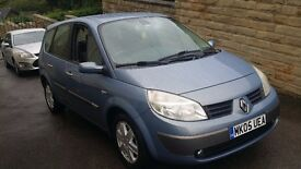 2005 / 05 Plate Renault Grand Scenic 1.6 VVT Dynamique 16V 5dr 37K Miles FROM NEW..SEVEN SEATER....
