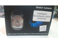 Intelligence Spying Wrist Watch16Gbusb chargeablenew boxed with manual