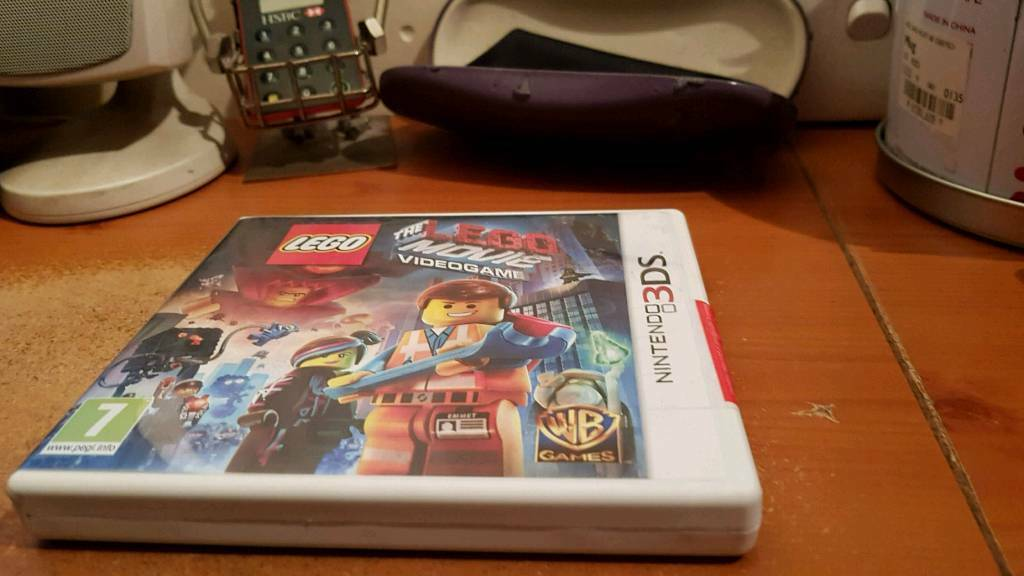 Nintendo 3ds game the Lego movie video game