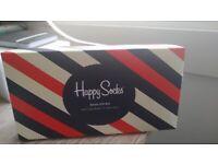 FREE - Brand new box set of Happy Socks (3x) for adults