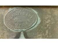 Royal navy victorian mess pail