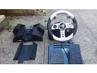 Playstation 2 accessories for driving games and multi game