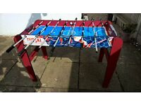 New! Table Football......hardly used!