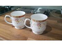 Fine Bone China Cups with Real Gold Trim RRP £60