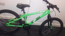 """Boys 24"""" bmx exrated bike"""