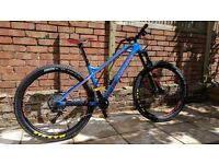 Mondraker Vantage R+ (Blue/Orange) Size - Medium