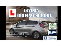 LEARN WITH EXPERT AUTO/MANUEL DRIVING INSTRUCTOR LAVINIA DRIVING SCHOOL £28P/H DRIVING LESSON