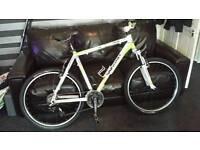 Whistle man's mountain bike