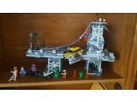 Lego Spiderman Bridge battle