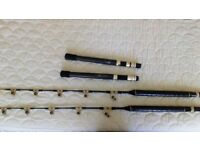 2 Shimano Ultra Stand Up Fishing Rods