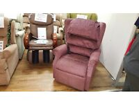 Ex-display Cosi Ambassador Dual Motor Riser Recliner Chair, Free Delivery*
