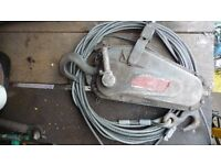 Tirfor TU8 Winch 800 kg capacity, 4x4, forestry, tree felling surgery, recovery land rover, Arborist